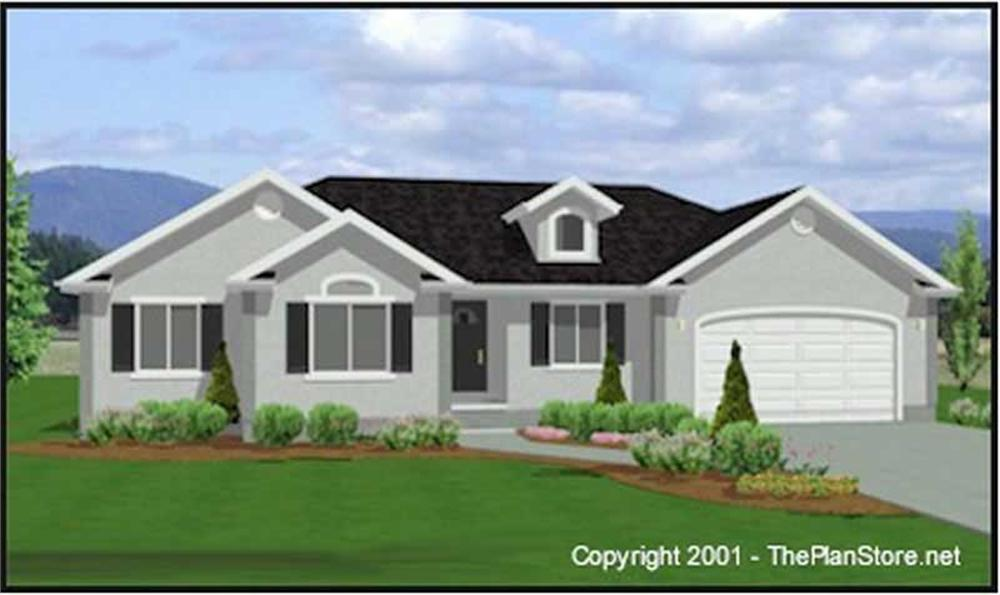 Main image for house plan # 6544