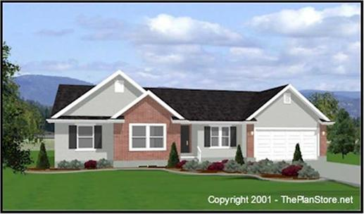 Main image for house plan # 6543