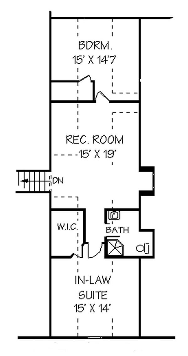 129-1038: Floor Plan Upper Level