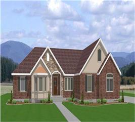 House Plan #129-1038