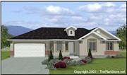 View house Plan#129-1040