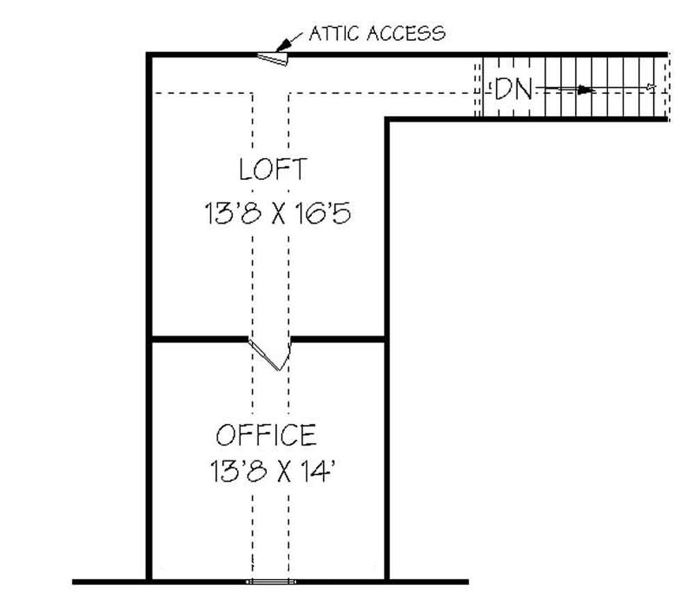 129-1041: Floor Plan Bonus Room