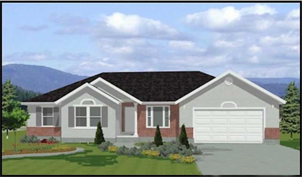 Main image for house plan #129-1042