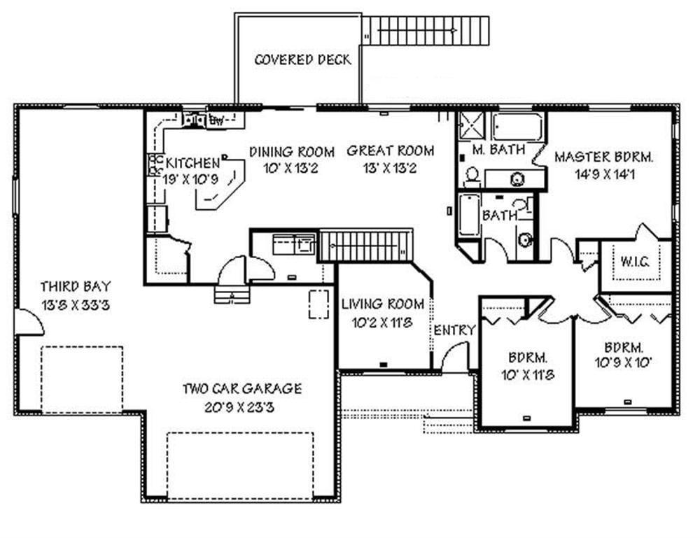 129-1044: Floor Plan Main Level