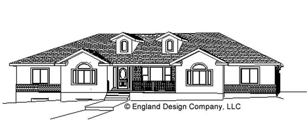 Main image for house plan # 8250