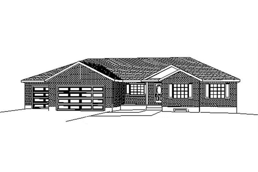 Main image for house plan # 8249