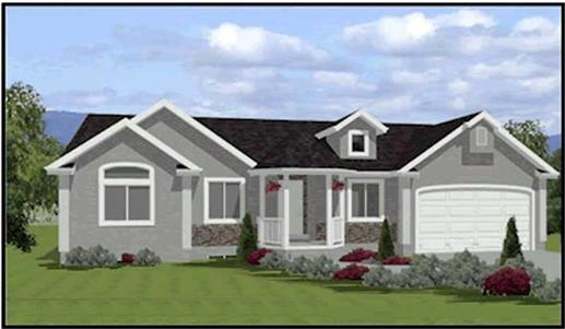 Main image for house plan # 8247