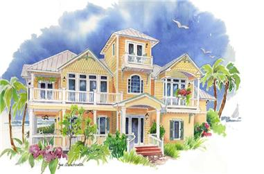 Main image for house plan # 16952