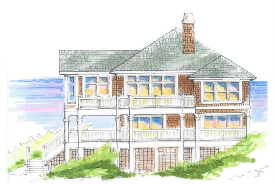 House Plan #130-1005