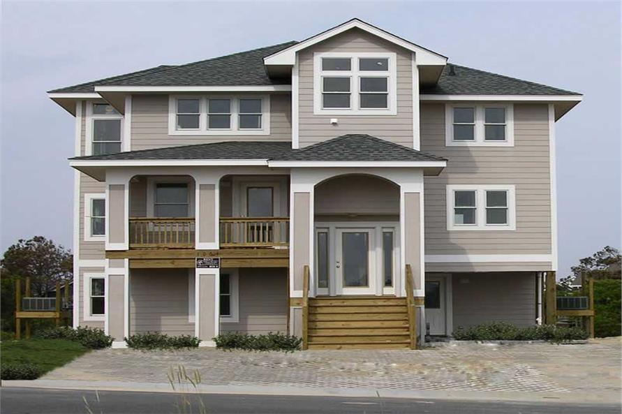 Main image for house plan # 130-1009