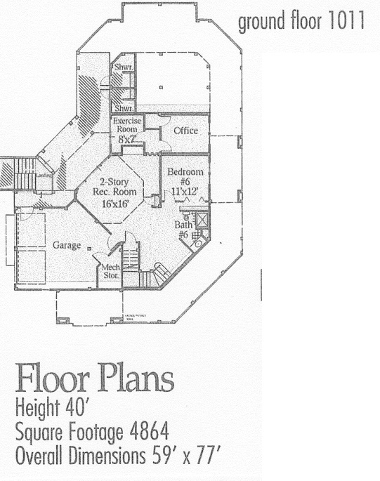 130-1017 house plan ground level