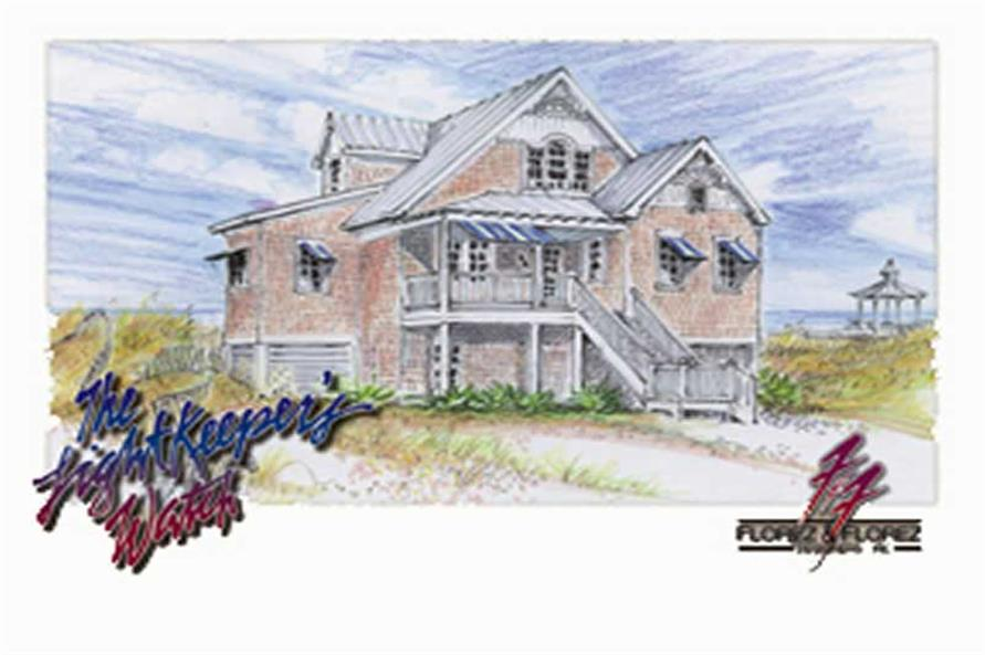 Main image for house plan # 16748