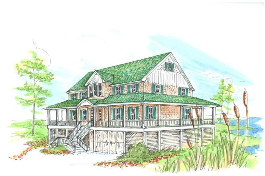 Main image for house plan # 16799