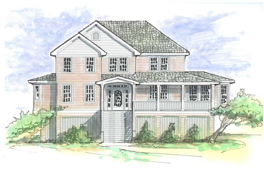 Main image for house plan # 16781