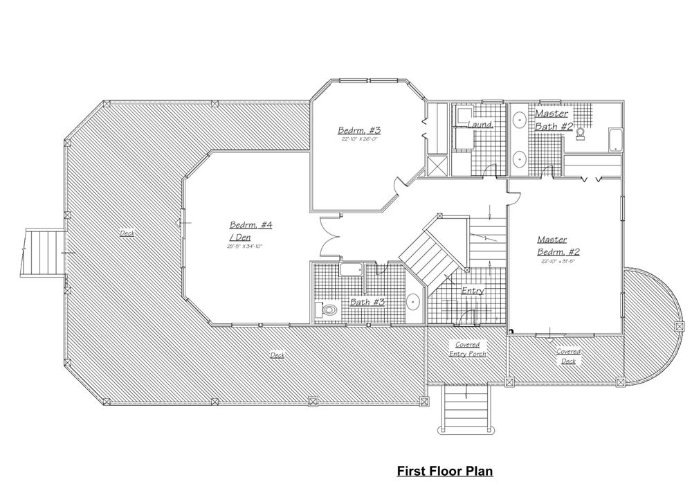 130-1045: Floor Plan Main Level