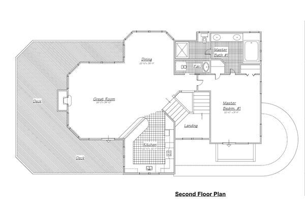 130-1045: Floor Plan Upper Level