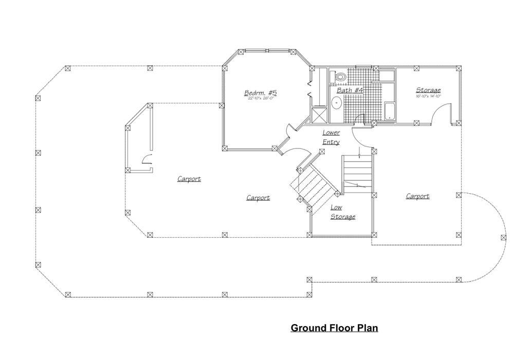 130-1045: Floor Plan Basement