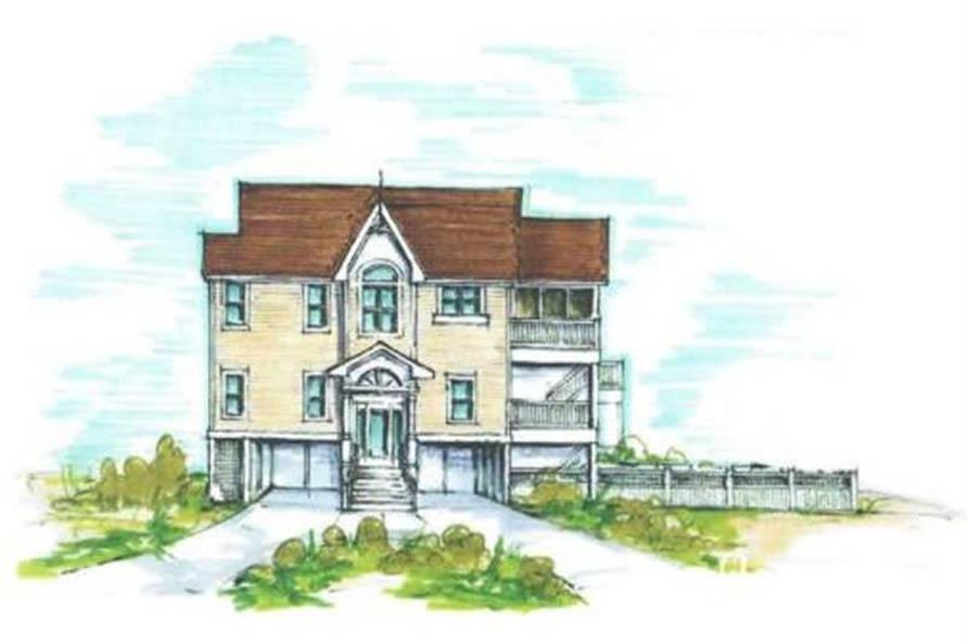 House Plan #130-1051