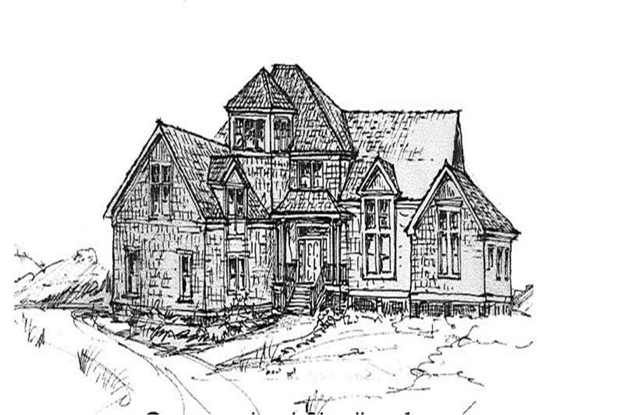 Main image for house plan # 16782