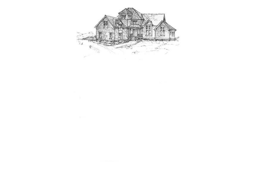 Home Plan Front Elevation of this 3-Bedroom,2575 Sq Ft Plan -130-1052