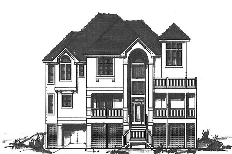 Main image for house plan # 16880