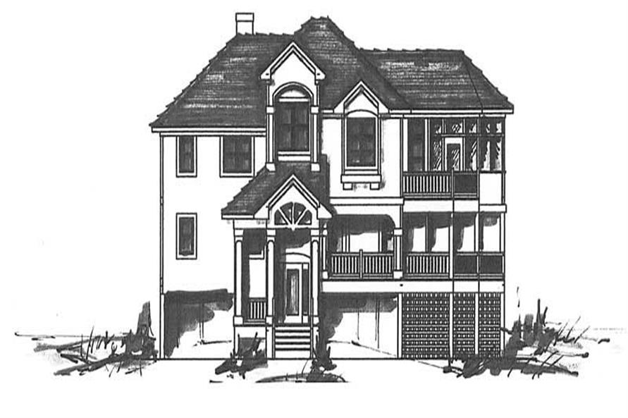 Main image for house plan # 16790