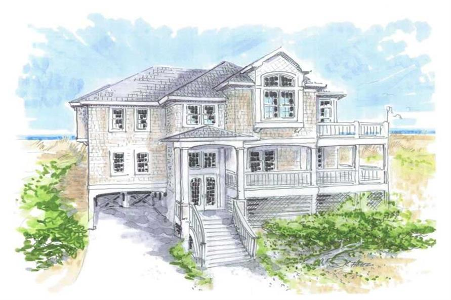 RENDERING of this 4-Bedroom,2497 Sq Ft Plan -2497