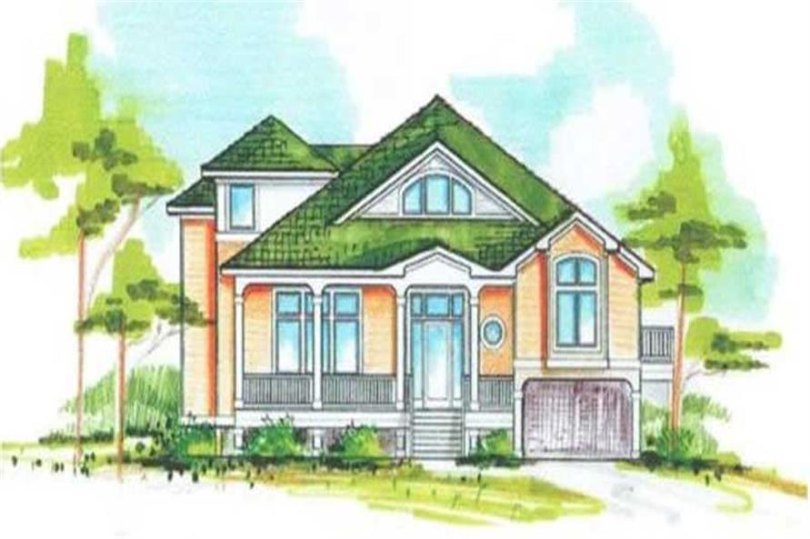 Main image for house plan # 16850