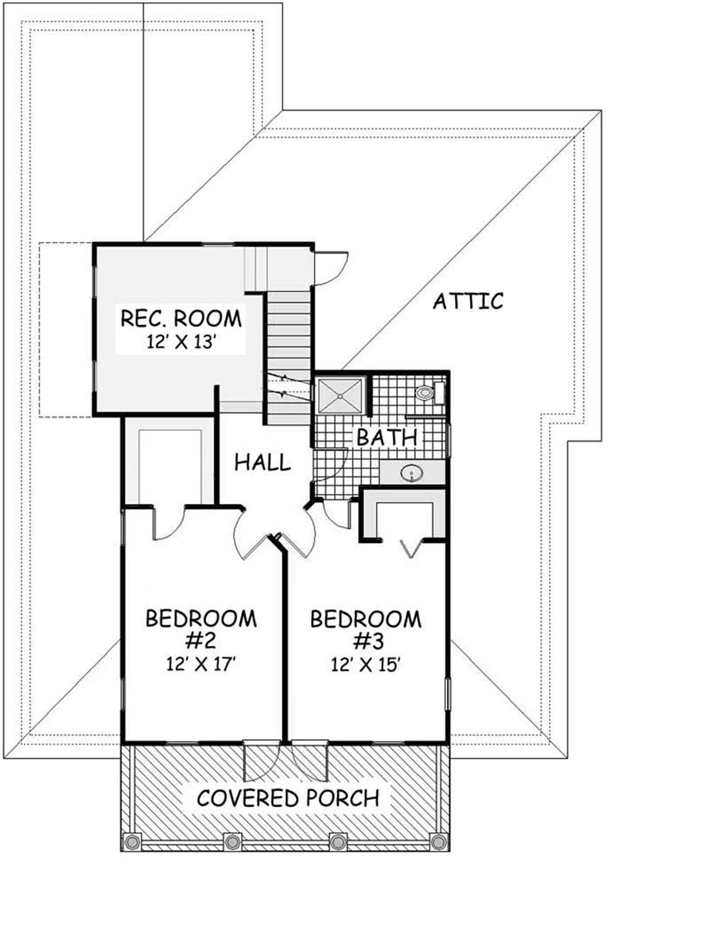 Second story house plans home design and style for 2nd floor house design