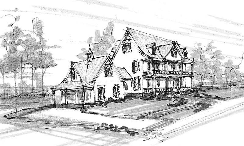 Main image for house plan # 16819