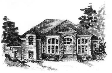 2-Bedroom, 3079 Sq Ft California Style Home Plan - 130-1088 - Main Exterior