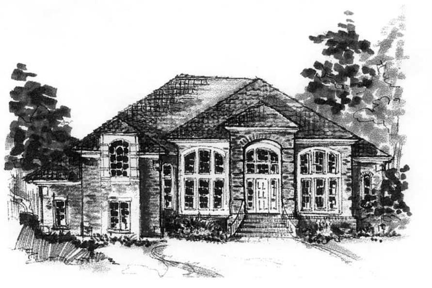 Main image for house plan # 16806