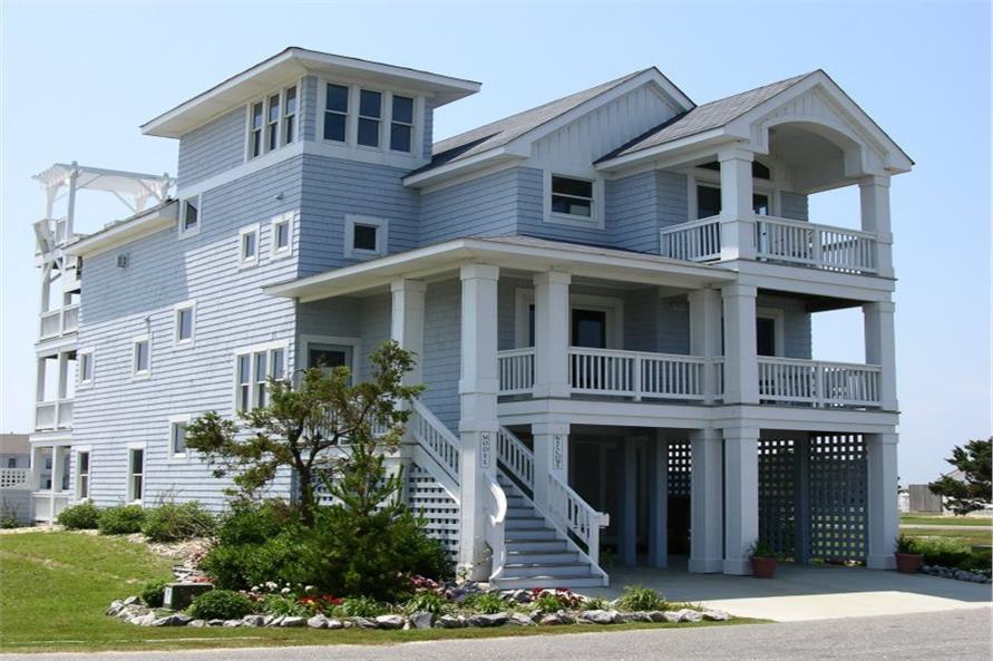Photo of beachfront home #130-1093