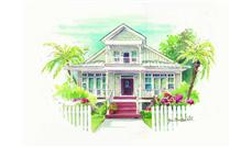 Main image for house plan # 16909