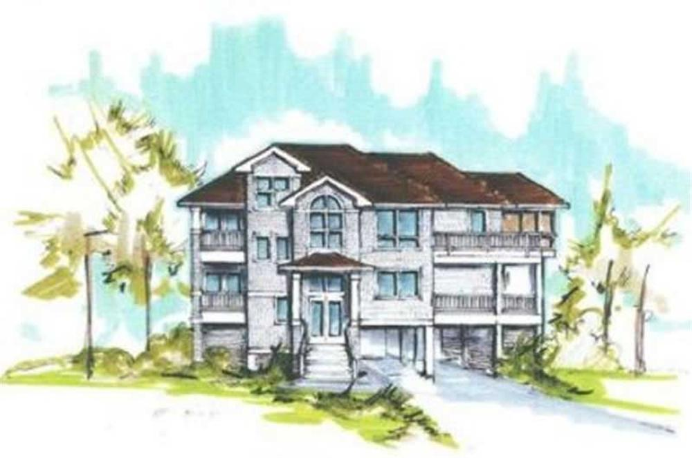 Main image for house plan # 16796