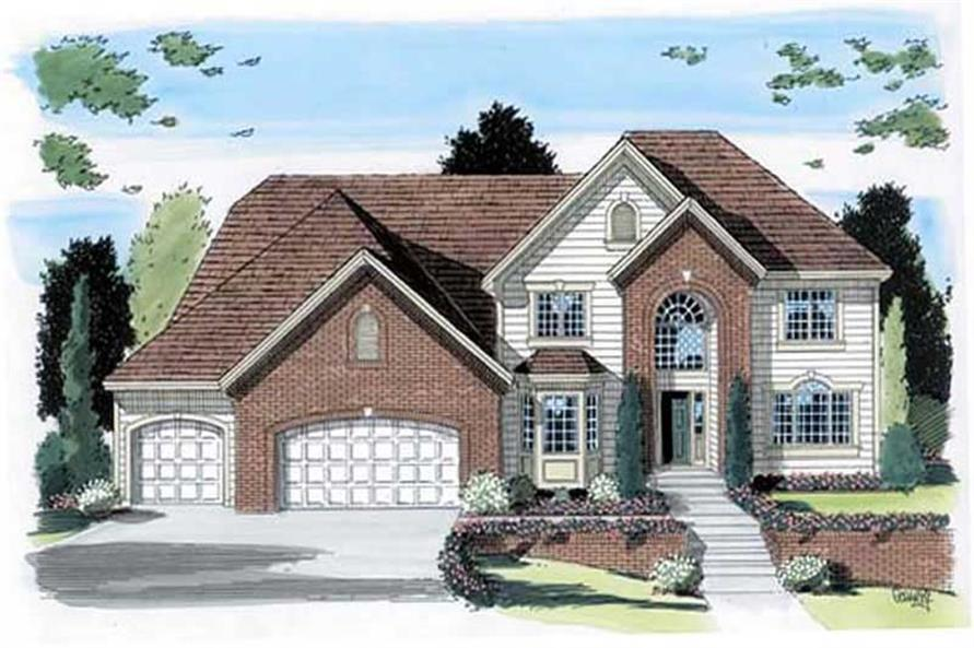 Main image for house plan # 20027