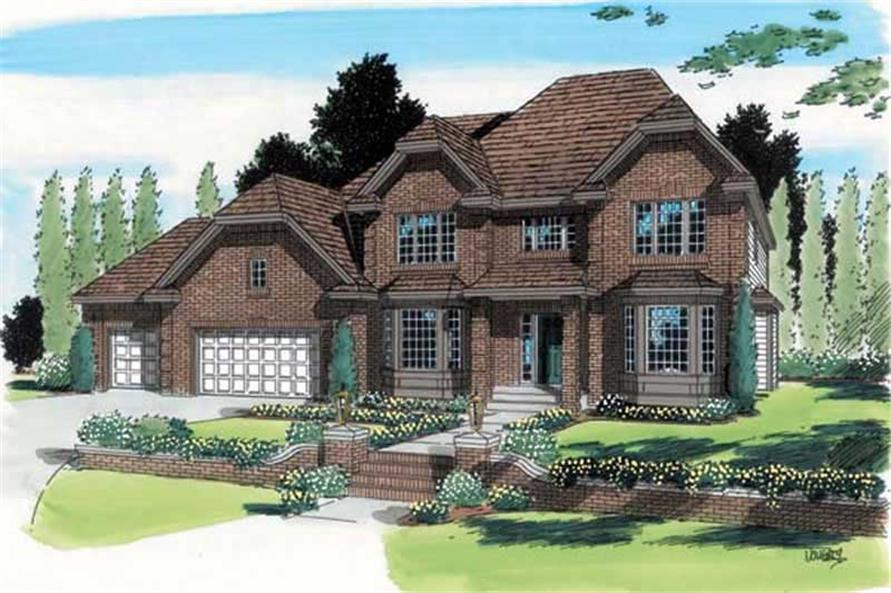 Main image for house plan # 20026