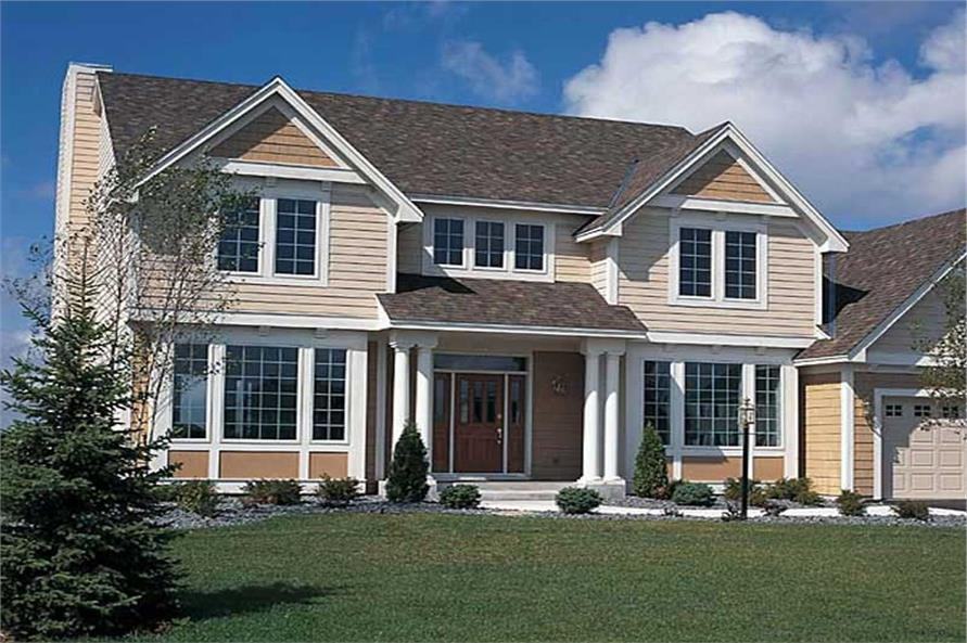Main image for house plan # 20020