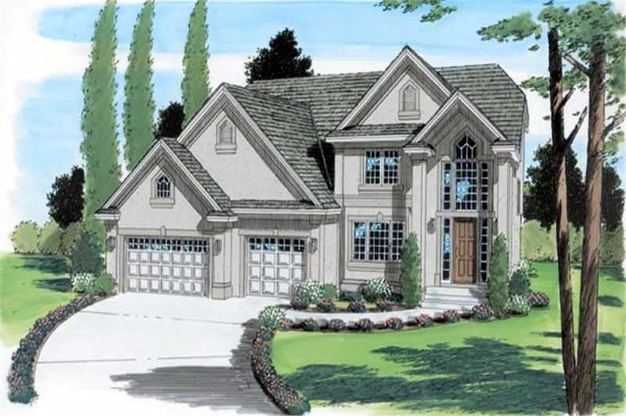 Main image for house plan # 20006
