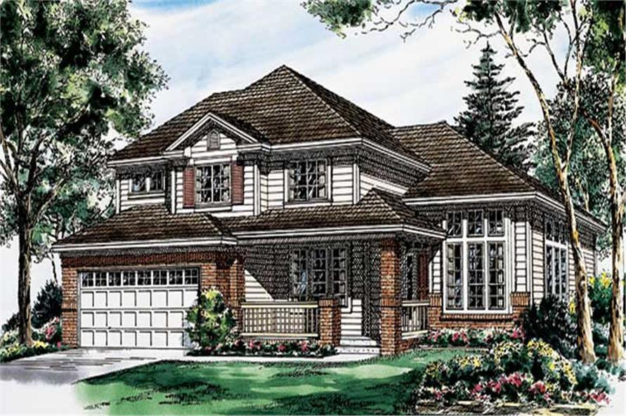 Main image for house plan # 19935