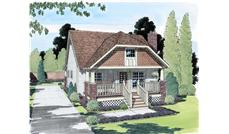 Main image for house plan # 19921