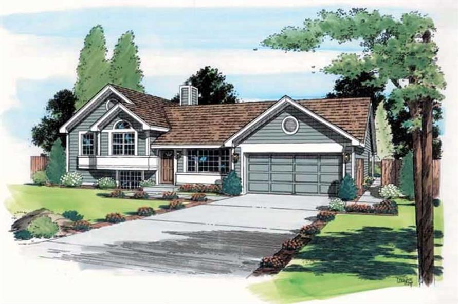 Main image for house plan # 19942