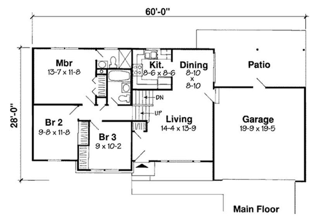 HOME PLAN GAR