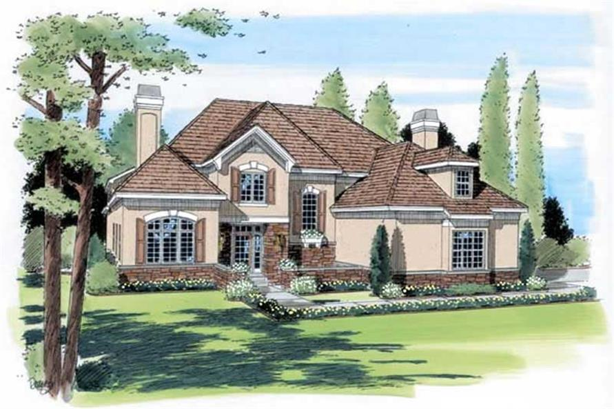 Main image for house plan # 20048