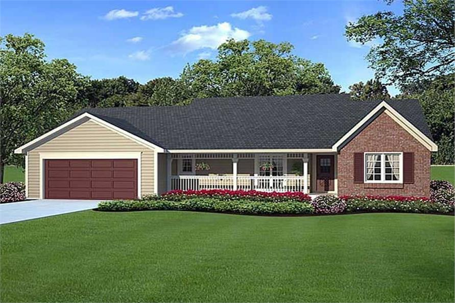 Main image for house plan # 19847