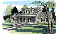 Main image for house plan # 20058