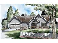 Main image for house plan # 20055