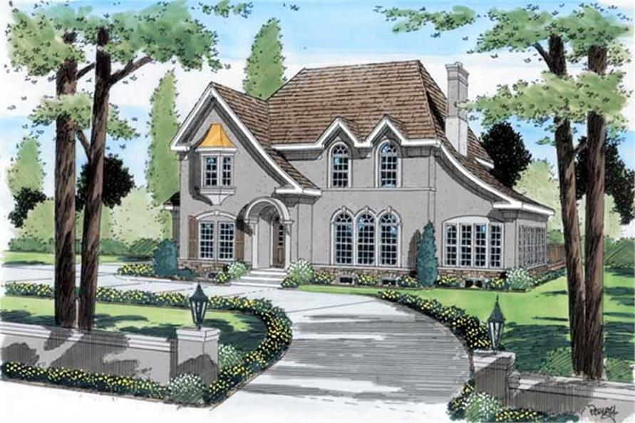 Main image for house plan # 20050