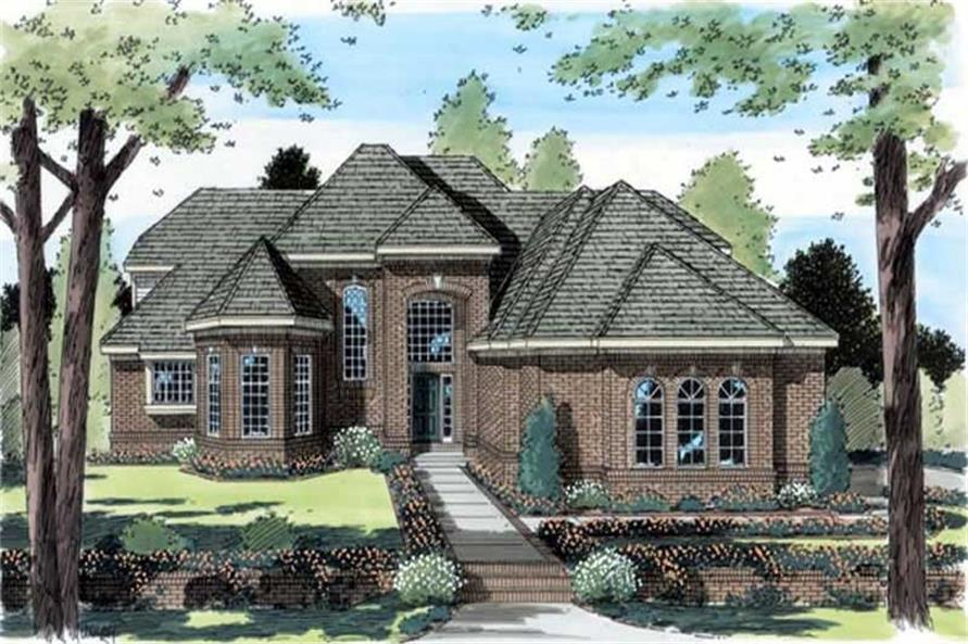 Main image for house plan # 20041