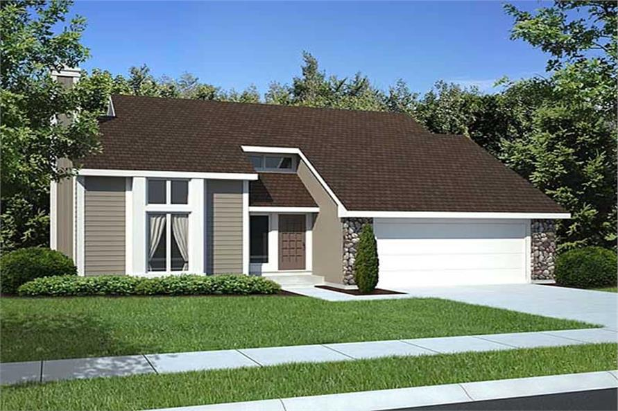 Main image for house plan # 20170